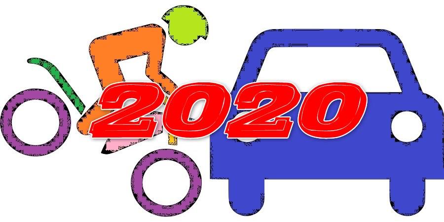 2020年(令和2年)4月以降のバイク自賠責保険料の早見表