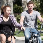 Miley Cyrus and Beau Get New Bikes