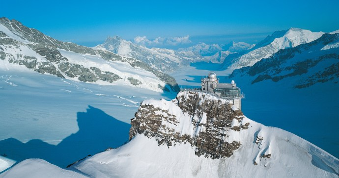 The Sphinx Observatory/James Bond Villain Lair in Jungfrau (My Switzerland)