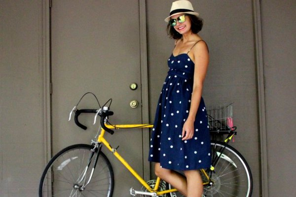 Bike stylish author Jeanne Eisenhaure