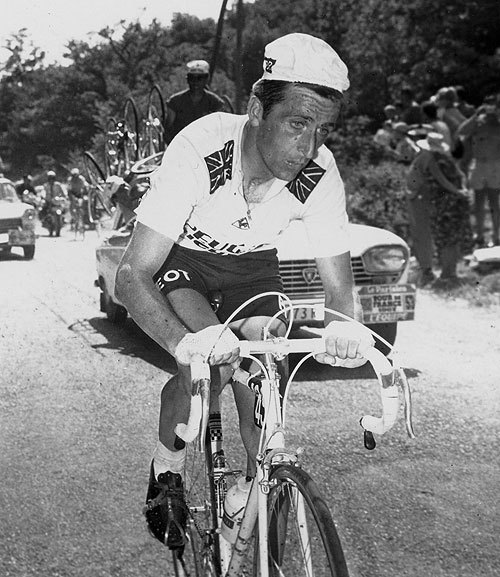 Tom Simpson shortly before his death (Cycling Weekly)