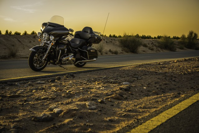 Harley-Davidson Sunset View