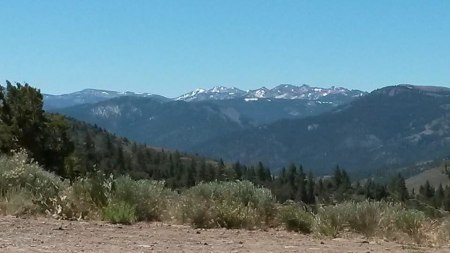 Mountain views can be spectacular. (Click pix to enlarge.)