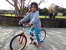 Biking is the best