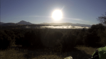 Mist above Upper Clutha River