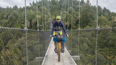 Jakub on the bridge