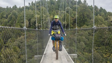 Jakub on the bridge