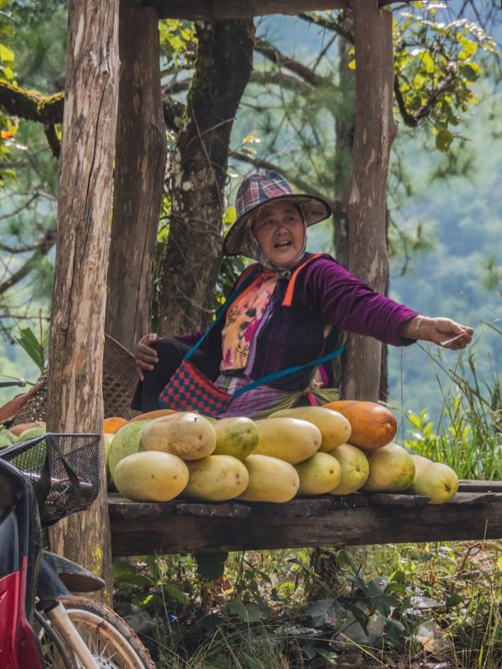 Žena z kmene Lisu