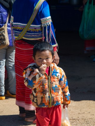 A Little Palaung Boy