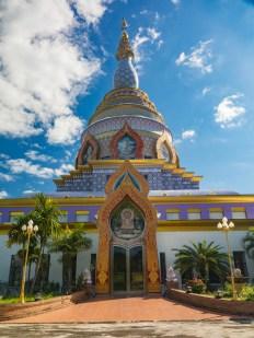 Stůpa ve Wat Tha Ton