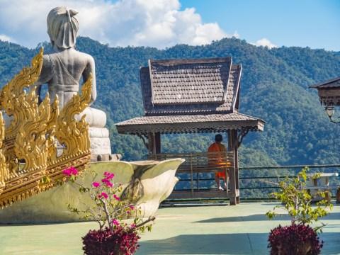 A Top of Wat Tha Ton