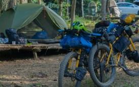 Camping in Lam Nam Kok NP