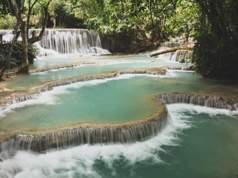 Vodopády Kuang Si poprvé