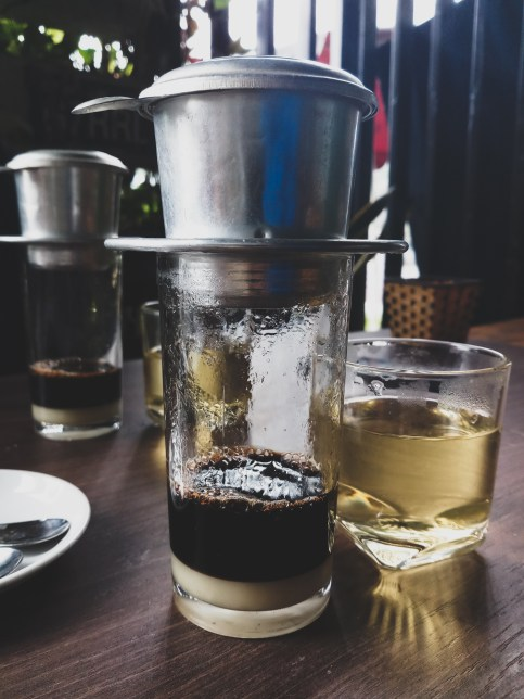 We felt in love with vietnamese coffee and tea at a first glance