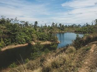 Shoulder of Nam Theun 2 North of Nakay