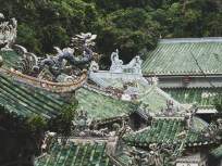 Roof Tops in Marble Mountains