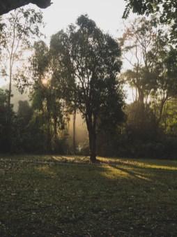 Východ slunce, Khao Yai NP