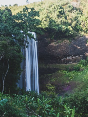 One of the waterfalls on Bolaven plateau