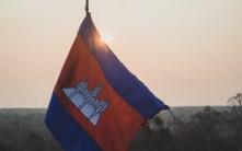 Kabodžská vlajka