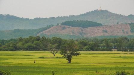 Myanmarský venkov