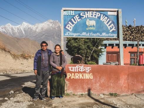 The Hosts. Khingar, Nepal