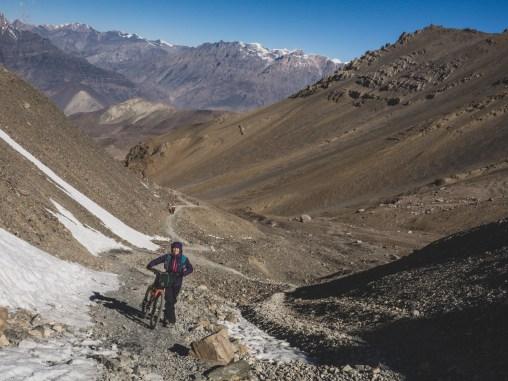 Defrosting. Muktinath, Nepal