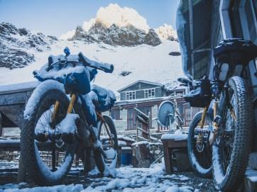 Zimní pohádka. Thorong Pedi, Nepál