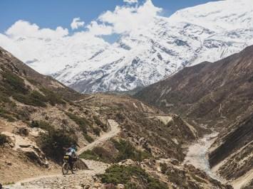 Ride like a girl. Gunsang, Nepal