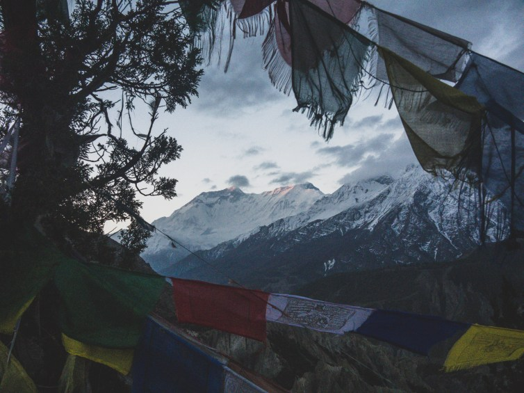 Sunrise on Annapurna II. Gunsang, Nepal