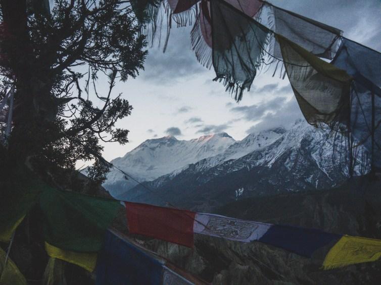 Sunrise on Annapurna II. Gunsang, Nepal