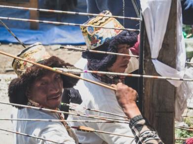 Archery Festival. Khangsar, Nepal