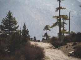 Cesta pro čtyřkolky. Braga, Nepál