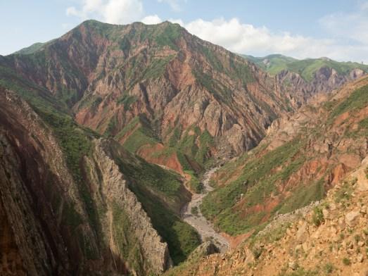 Approaching Afganistan. Shuroobod, Tajikistan