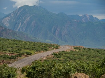 First kilometers along Panj river. Tajikistan and Aftanistan Frontier