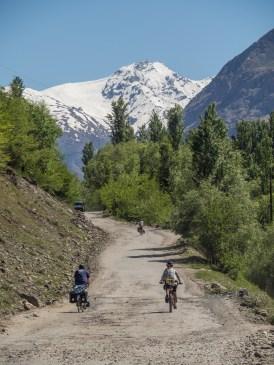 Beyond Rushon. Tajikistan and Afganistan Frontier