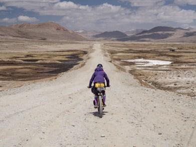 Awesome downhill from Koitezek Pass. Pamir, Tajikistan