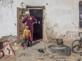 Naši milí hostitelé. Oblast Alichur, Tádžikistán.