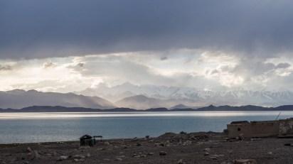 The Lake. Karakul Lake, Tajikistan