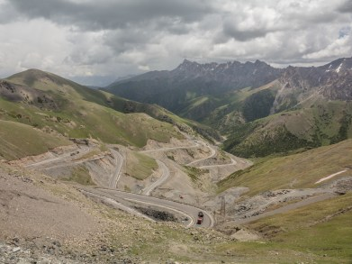 These TURNS. Sary-Tash Area, Kyrgyzstan