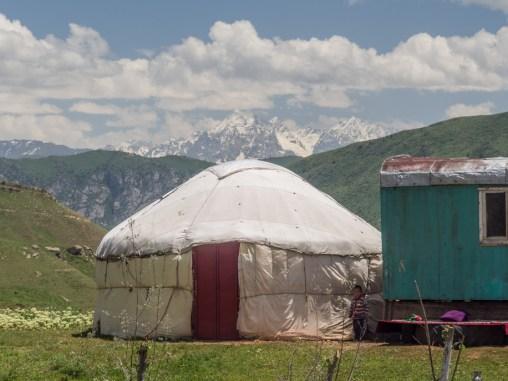 Yurt. Gul'cha, Kyrgyzstan