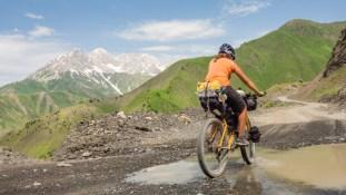 Splash! Kaldamo Pass, Kyrgyzstan