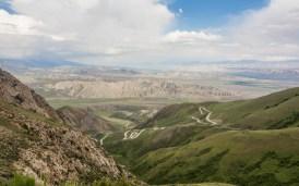 Rollercoaster Ride. Kok-Djar, Kyrgyzstan