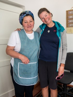 Langman cooking class: How to make a friendship. Naryn, Kyrgyzstan