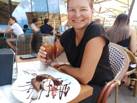 Café lifestyle. Almaty, Kazakhstan