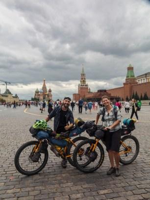 Opět na Rudém náměstí. Moskva, Rusko