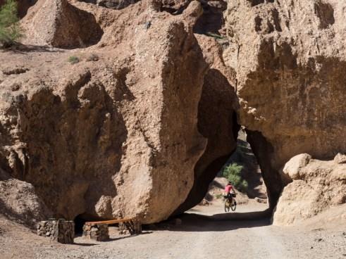 An Arch. Charyn Canyon, Kazakhstan