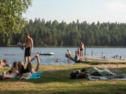 Finské koupací šílenství. Finsko
