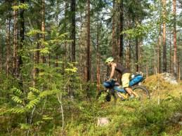Jakub. Mäntyharju-Repovesi mtb trail, Finland
