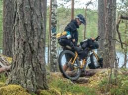 Sometimes it is harder. Kollaa laavu, Finland