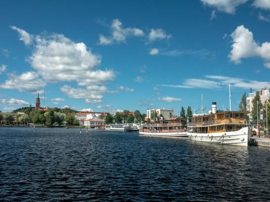 Krásný výhled. Savonlinna, Finsko